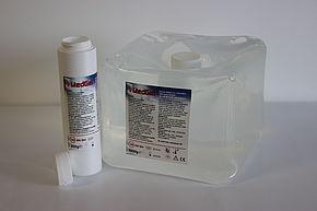 Gel vodivý pro UZ, bezbarvý, 5l + 250ml lahvička, měkký kanystr (4ks/kar) (USG2W5000)